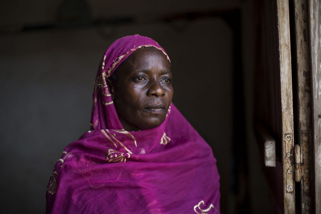 Maria, a Muslim returnee, is photographed in Berberati, CAR. Credit: Will Baxter.