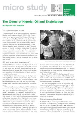 Nigeria - Minority Rights Group