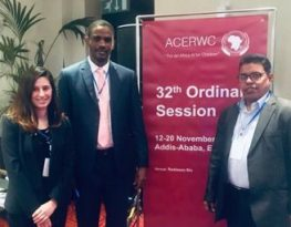 Raising Child Statelessness and Slavery Conditions at the ACERWC, 32nd Ordinary Session in Addis Ababa