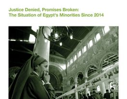 Egyptian government fails to uphold its Constitution, discrimination persists for religious and ethnic minorities – new report