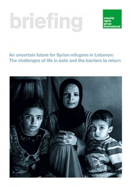 An uncertain future for Syrian refugees in Lebanon: The challenges of life in exile and the barriers to return