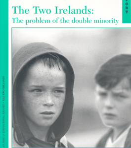"1971: ""The Two Irelands- the problem of the double minority"""