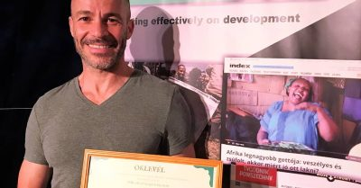 Hungarian Development Journalism Award 2019