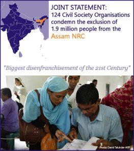 MRG joins 124 NGOs condemning mass-disenfranchisement in Assam