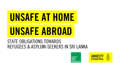 Six months on, there is still no accountability for attacks on refugees and asylum-seekers in Sri Lanka – new report