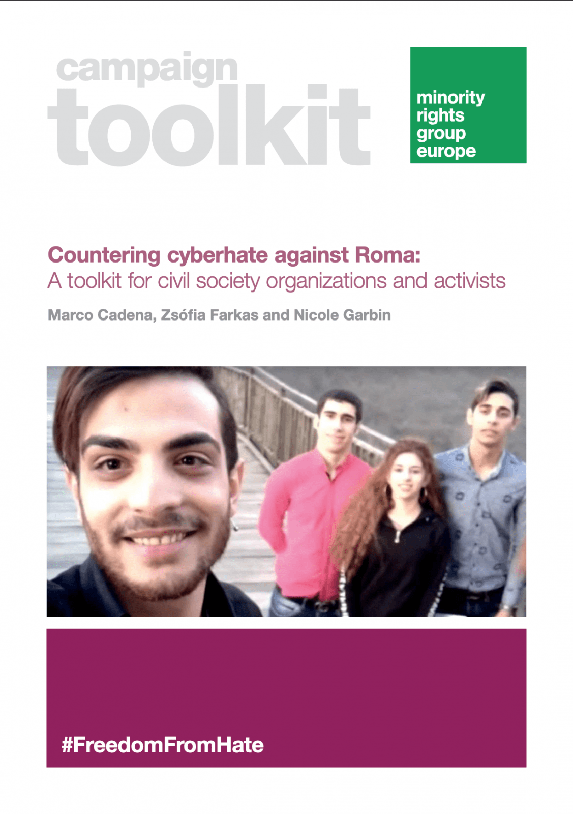Campaign Toolkit - Countering cyberhate against Roma