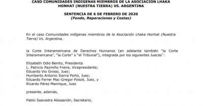 The Inter-American Court of Human Rights Issues Landmark Judgment in Indigenous Rights Case