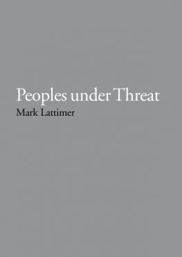 Peoples under Threat 2007
