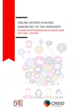 Online hatred pushing minorities to the periphery: An analysis of Pakistani social media feeds