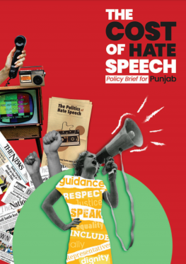 The cost of hate speech: Policy brief for Punjab