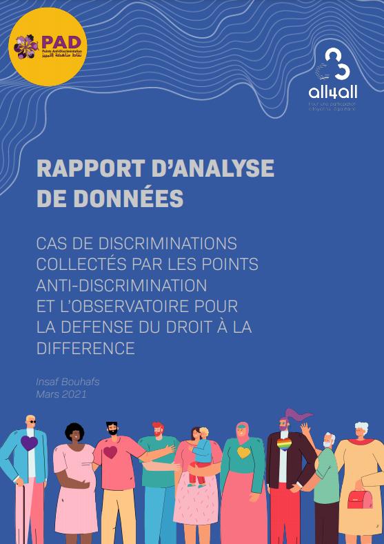 Cas de discriminations collectés par les Points Anti-Discrimination et l'Observatoire pour la Défense du Droit à la Différence
