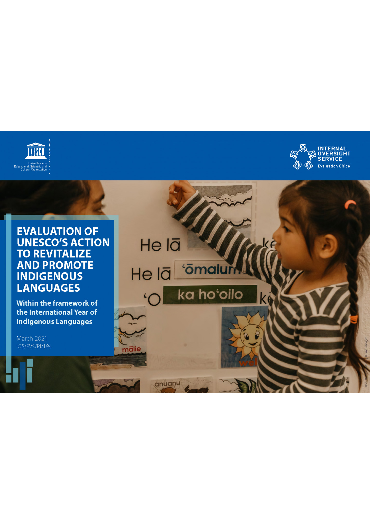 Evaluation of UNESCO's action to revitalise and promote indigenous languages