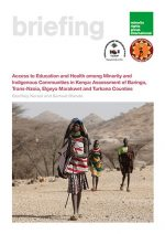 Access to Education and Health among Minority and Indigenous Communities in Kenya